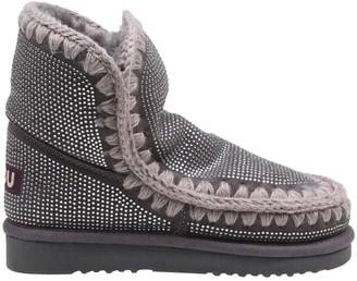 Mou Eskimo 18 Suede Sneakers