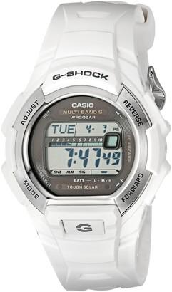 Casio Men's GWM850-7CR G-Shock Solar Atomic White Watch