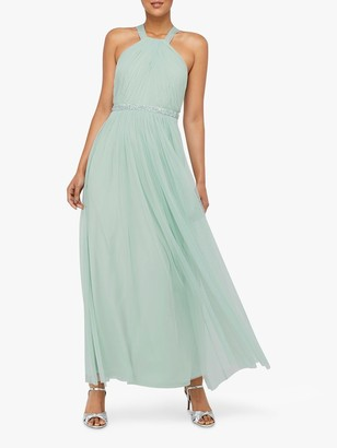 Monsoon Ellison Twist Embellished Maxi Dress