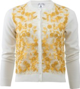 Oscar de la Renta Embroidered Cardigan
