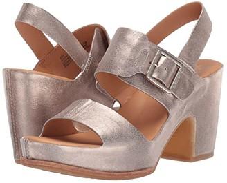 Kork-Ease San Carlos (Black Full Grain Leather) High Heels