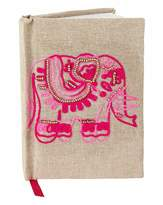 Fashion World Embellished Elephant Notebook