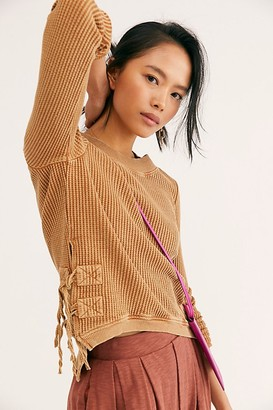 Free People Fp One Cropped Interlaken Top at