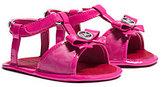 Michael Kors Girls Joy Bow-Embellished Sandal Infant