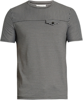 Maison Margiela Crew-neck striped T-shirt