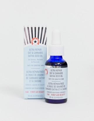 First Aid Beauty Ultra Repair Oat & Hemp Seed Oil 1.0 fl oz-No Color