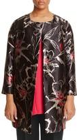 Marina Rinaldi Noemi Metallic Floral Jacket