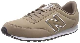 New Balance Men's 410 Trainers, Beige (Mushroom/White/Silver Mink Hwg), 12.5 (47.5 EU)