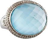 David Yurman Signature Quartz and Diamond Ring
