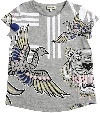 Kenzo Printed Cotton Blend T-shirt