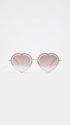 Linda Farrow Luxe Matthew Williamson x Linda Farrow Petuni Sunglasses