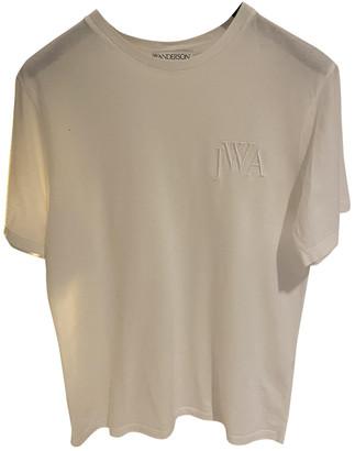 J.W.Anderson White Cotton T-shirts