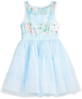 Marmellata Floral-Lace Mesh Party Dress, Toddler & Little Girls (2T-6X)