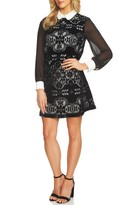 CeCe Women's Lace Shirtdress