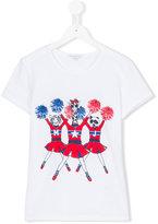 Little Marc Jacobs Teen animal cheer T-shirt