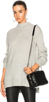Rag & Bone Ace Turtleneck Sweater in Gray.