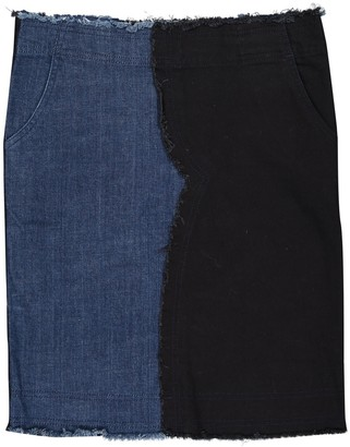 Vanessa Bruno Blue Cotton Skirts