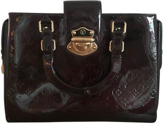 Louis Vuitton Melrose Burgundy Patent leather Handbags