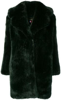 La Seine & Moi Louve faux fur coat