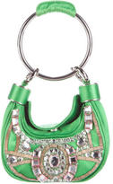 Chloé Embellished Satin Evening Bag