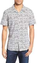 Nordstrom Slim Fit Print Camp Shirt