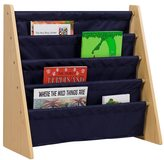 Levels of Discovery Blue Sling Book Shelf