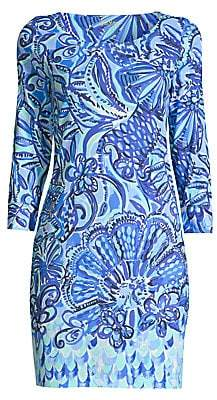 Lilly Pulitzer Women's Hollee Printed Cotton T-Shirt Dress