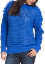 Plenty by Tracy Reese Open-Knit Eyelash Yarn Sweater
