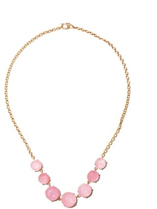 Irene Neuwirth Gemmy Gem Tourmaline & 18kt Rose-gold Necklace - Pink Multi