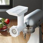Crate & Barrel KitchenAid ® Stand Mixer Food Grinder Attachment