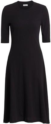 Rosetta Getty Midi T-Shirt Dress
