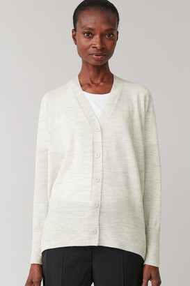 Cos Seamless Wool Cardigan