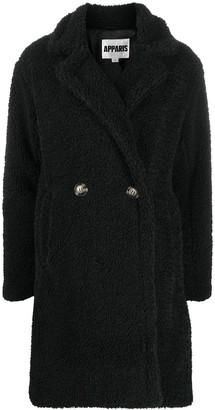 Apparis Anouck faux-sherling coat