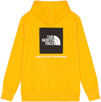The North Face Box NSE Pullover Hoodie in Summit Gold | FWRD