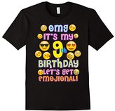 Emoji Birthday TShirt For Girls 9 Years Old OMG Emoji