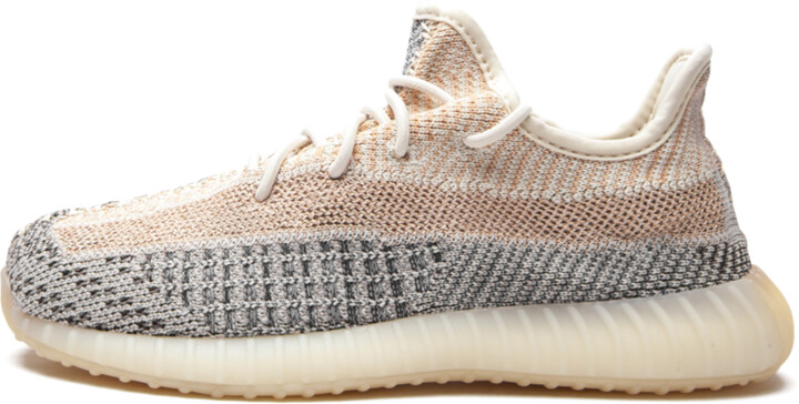 Adidas Yeezy Boost 350 Kids 'Ash Pearl' Shoes - Size 11K