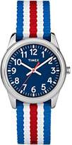Timex Boys TW7C09900 Time Machines Metal Nylon Strap Watch