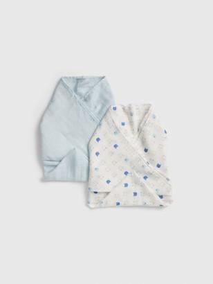 Gap Baby Favorite Swaddle Blanket (2-Pack)