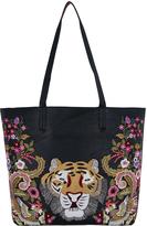 Accessorize Tiger Garden Tote Bag