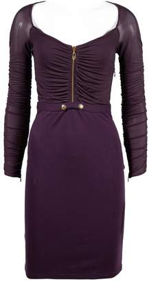 N. Non Signé / Unsigned Non Signe / Unsigned \N Purple Synthetic Dresses