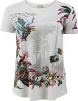 Etro Post Card Print T-Shirt