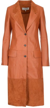 Loewe Single Breasted Button Coat