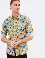 Replay Floral Print Shirt
