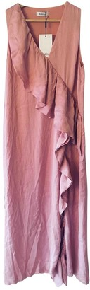 Rodebjer Pink Silk Dress for Women