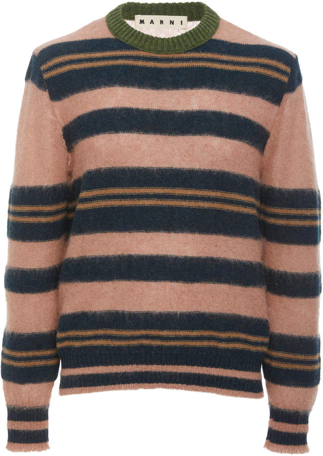 Marni Striped Crewneck Sweater