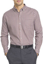 Van Heusen Long-Sleeve No Iron Button Front Shirt