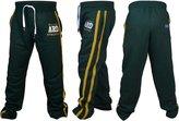 4Fit Inc Men's Joggers Cotton Fleece Jogging Trousers Pants Track Suit Bottom MMA Boxing (, XL)