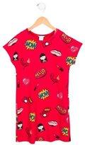 Little Marc Jacobs Girls' Comic Print Short Sleeve Dress