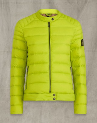 Belstaff Odile Jacket Green UK 8 /