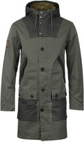 Pretty Green Ashburn Khaki Parka Jacket